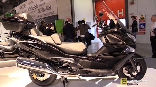 getlinkyoutube.com-2015 Honda SW-T600 Scooter - Walkaround - 2014 EICMA Milan Motorcycle Exhibition