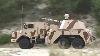 getlinkyoutube.com-Thales - RAPIDFire 40mm Multi-Role Ground-Based Gun System [720p]