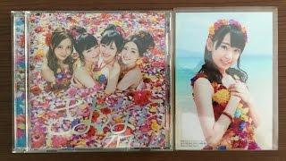 "getlinkyoutube.com-[ UNBOXING ] AKB48 31st Single  ""Sayonara Crawl"" Type - A"