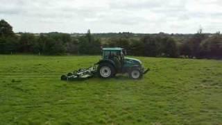 MAJOR 18000 Flex Wing Grass Topper