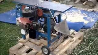getlinkyoutube.com-Strugarka grubościówka domowej roboty.