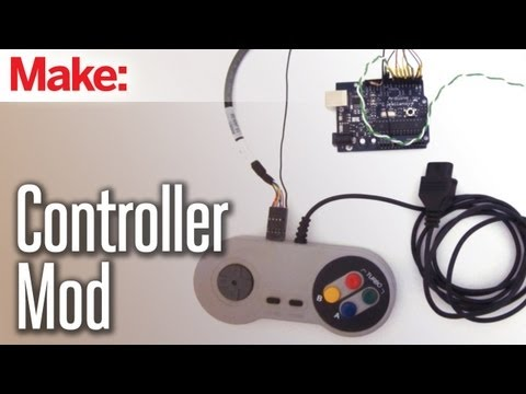 DIY Hacks & How To's: VIdeo Game Controller Mod