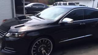 getlinkyoutube.com-2014 Chevy Impala LTZ Forgiato