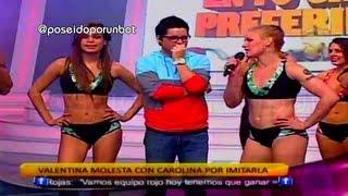 getlinkyoutube.com-COMBATE: Carolina se Burla de Valentina Shevchenko 21/08/13