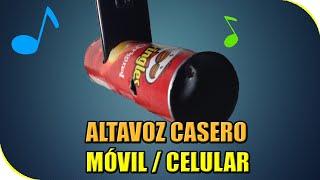 getlinkyoutube.com-COMO HACER ALTAVOZ PARA MOVIL / CELULAR | EXPERIMENTOS CASEROS
