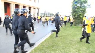 getlinkyoutube.com-Hespress.com: Protestations & forces à Rabat