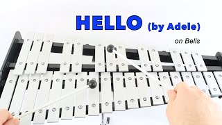 getlinkyoutube.com-HELLO by Adele for Bells (Notes work for FLUTE too)