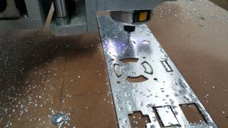 getlinkyoutube.com-CNC Router Cutting Aluminum Panel
