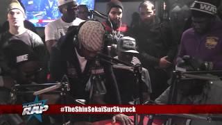 Black M présente son nouveau son Spectateur en live dans Planète Rap