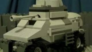 getlinkyoutube.com-Lego WW2 Weapons