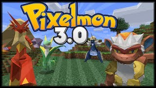getlinkyoutube.com-Minecraft Pixelmon 3.0 Update - All New Pokemon and Models!