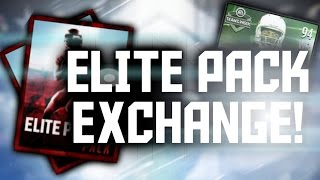 ELITE PLAYER EXCHANGE! EPIC CLUTCH PULL! - Madden Mobile 16