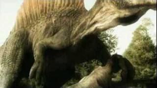 getlinkyoutube.com-Monsters Resurrected - End of Spinosaurus