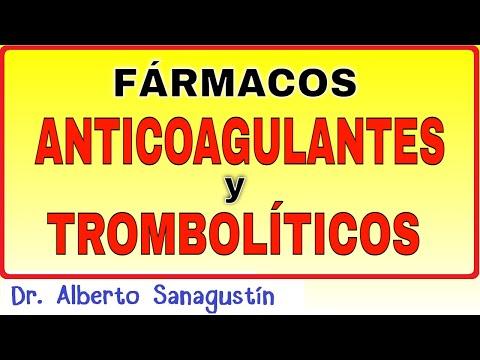 Anticoagulantes y  trombolíticos: mecanismos de acción
