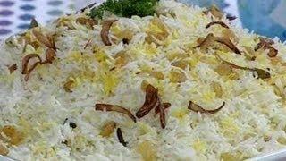 getlinkyoutube.com-أرز بخاري بالزبيب  - منال العالم