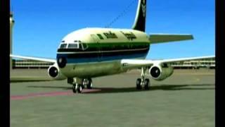 getlinkyoutube.com-طائرة  الخطوط السعودية قديماً