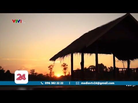 Mô hình ẩm thực trên ruộng lúa ở Lào