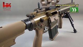getlinkyoutube.com-Airsoft Rifle Umarex HK G28 GBB Semi 6mm