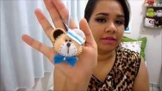getlinkyoutube.com-DIY:: Lembrancinha ursinho em Feltro