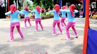 Poco-Poco Kreasi Bhayangkari Polres Pasaman, Lubuk Sikaping, SUM-BAR