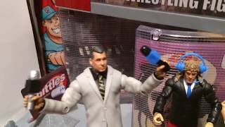 GTS WRESTLING: Last stop B4 MANIA! WWE Figure Matches Animation! Mattel Elites PPV Event!