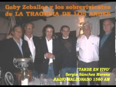 13 oct 2011 - Gaby Zeballos y los sobrevivientes de la tragedia de los Andes