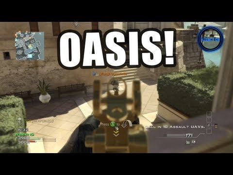 "New! MW3 ""OASIS Multiplayer GAMEPLAY"" - Live Commentary! (Modern Warfare 3 DLC Maps)"