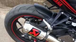 getlinkyoutube.com-Yamaha R25 With Akrapovic GP M1 full system