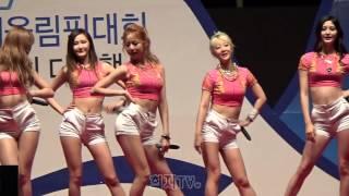 getlinkyoutube.com-[150516] EXID 평창동계올림픽 G-1000 축하공연 by 희지TV