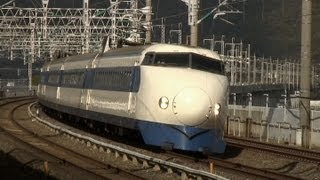 getlinkyoutube.com-新幹線 高速通過! Japanese bullet train high-speed passage!