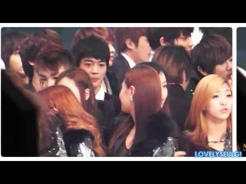SHINee Minho SNSD Yuri - MinYul Staring Moments Collection [Part 2]