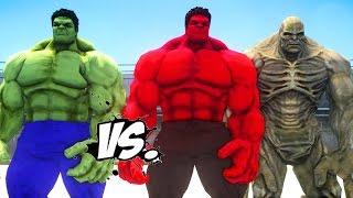 getlinkyoutube.com-HULK VS RED HULK & ABOMINATION - EPIC SUPERHEROES BATTLE | DEATH FIGHT