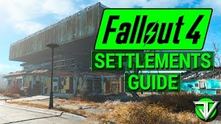 getlinkyoutube.com-FALLOUT 4: Workshop SETTLEMENTS Guide! (The Basics of Resource Management in Fallout 4!)