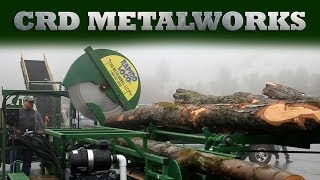 getlinkyoutube.com-CRD Metalworks Firewood Processor Corporate Video