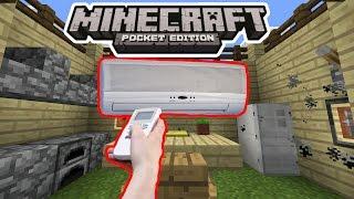 getlinkyoutube.com-РАБОЧИЙ КОНДИЦИОНЕР В Minecraft PE 1.2