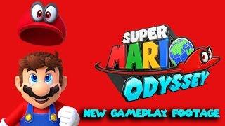 Super Mario Odyssey | New Gameplay Footage