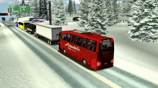 18 WOS HAULIN bus trip with Travego SHD15 part1