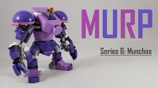 getlinkyoutube.com-I LIKE BIG ROBOTS! - LEGO Mixels Munchos MURP