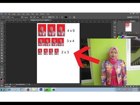 Cara Cepat Edit Foto 3x4