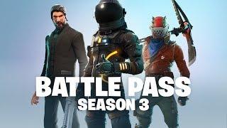 Fortnite - Battle Pass Season 3 Announce