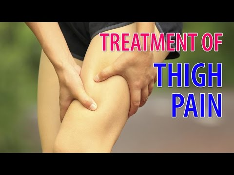 Treatment of Thigh Pain through Acupressure