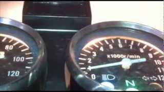 getlinkyoutube.com-Poniendo luces intermitentes y altas a Suzuki GN125H
