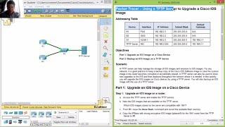 getlinkyoutube.com-10.3.3.5 - 9.1.2.5 Packet Tracer - Using a TFTP Server to Upgrade a Cisco IOS Image