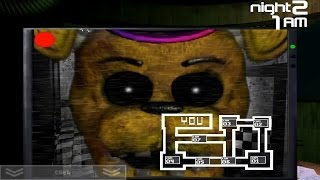 getlinkyoutube.com-Five Nights at Fredbears Family Diner v0.3 - Jumpscares + Gameplay
