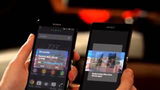 ตัวอย่างโทรศัพท์มือถือ Sony Xperia Z