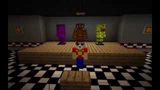 getlinkyoutube.com-Minecraft Fnaf 1 (Five Nights At Freddy's) Texture Pack