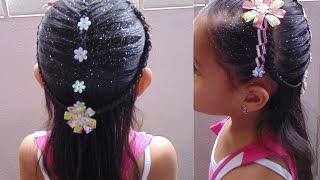getlinkyoutube.com-Trenzas: Peinados para niña