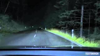 getlinkyoutube.com-Audi A8 Matrix LED Headlights