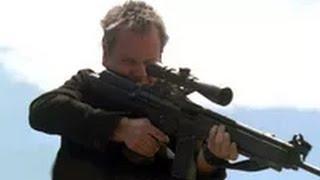 Jack Bauer killing spree at stadium - 24 Season 2 Finale width=