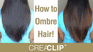 getlinkyoutube.com-How to DIY Ombre color at home! Color your own hair!